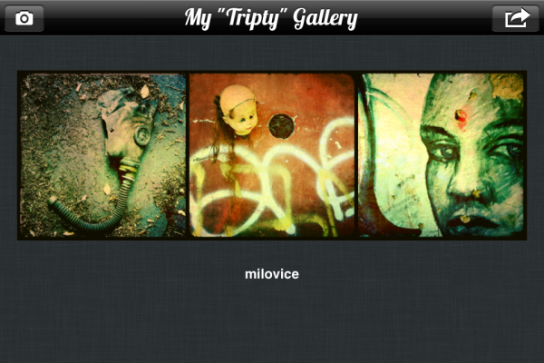 Tripty app screenshot