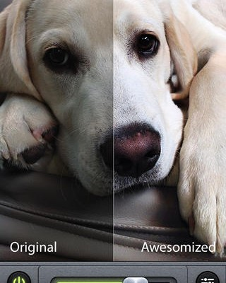 Camera Awesome app foto hlavni