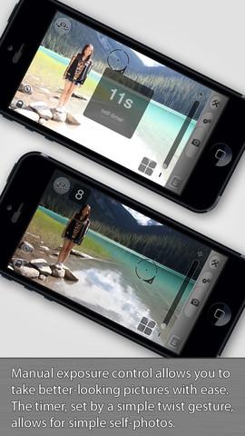 Camera Sharp app foto hlavni