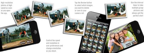 Fast Camera app foto