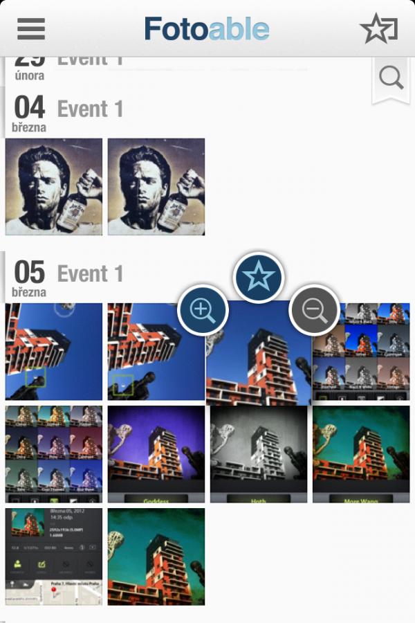 Fotoable app foto 1