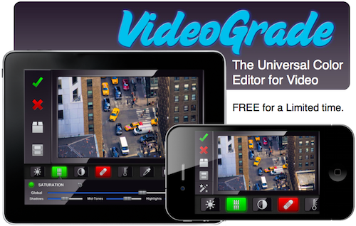 VideoGrade app foto