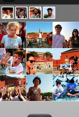 PhotoCircle app foto hlavni