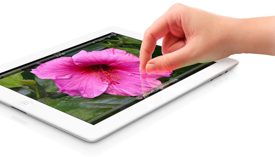 nový iPad foto