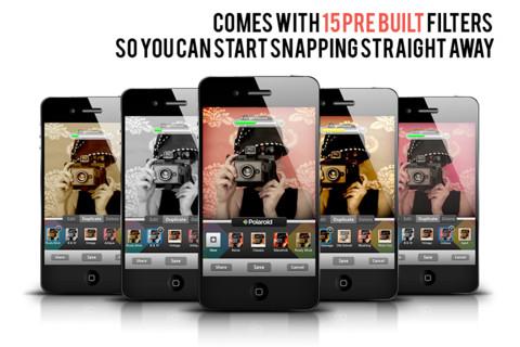 Polaroid app foto