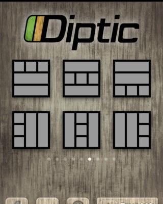 Diptic app foto
