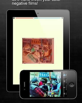 FilmScanner Lite app foto hlavni