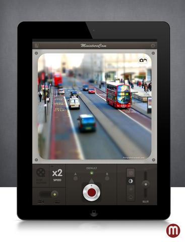 MiniatureCam app foto hlavni