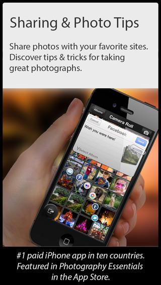Camera Genius app foto hlavni