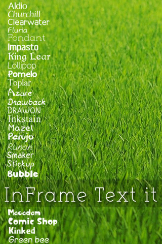 InFrame Text It app foto