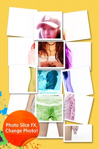 Photo Slice app foto