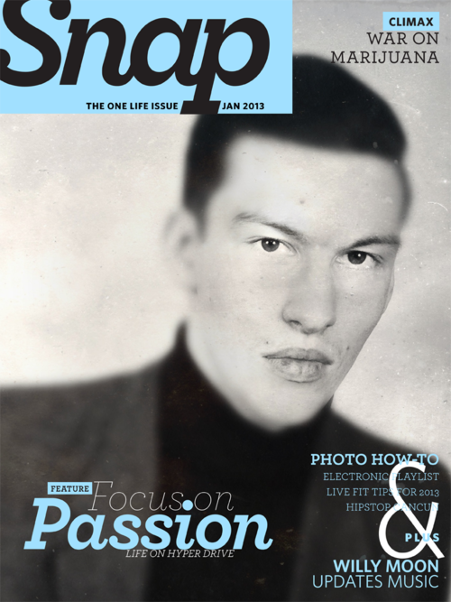 Snap magazin od Hipstamatic