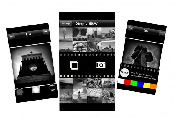 Simply B&W app foto hlavni
