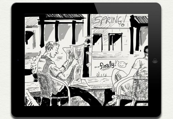 SketchTime app foto hlavni