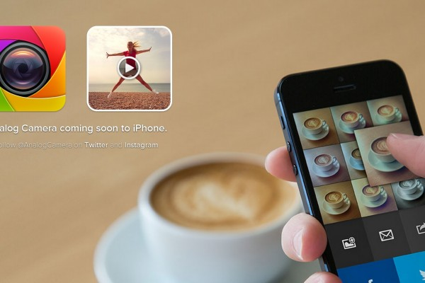 Analog Camera app screenshot od Realmacsoftware