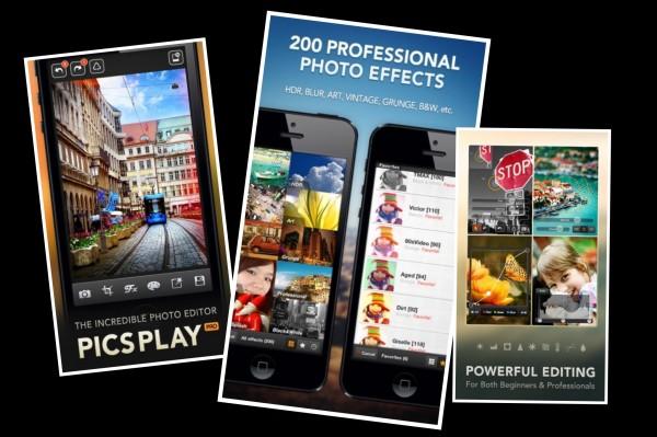 PicsPlay PRO app foto hlavni