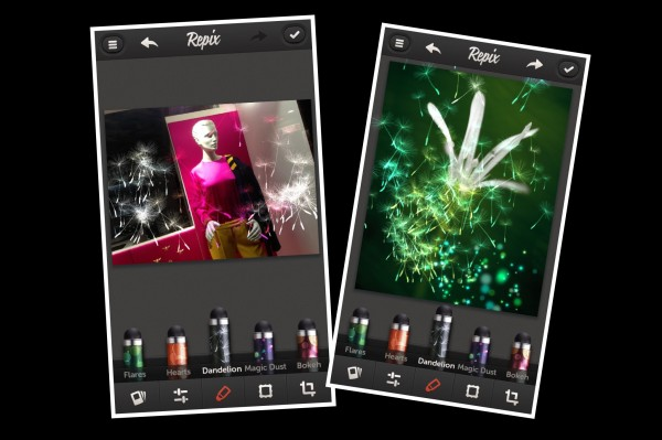 Repix app foto hlavni