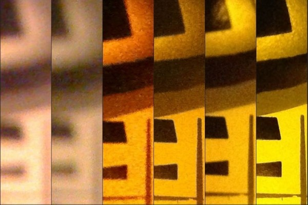 iPhone fotografie testy makro nizke osvetleni