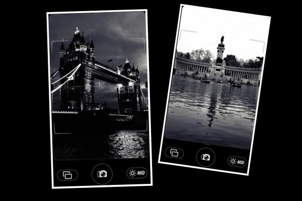 Camera Noir app foto hlavni