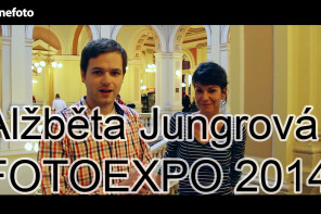 Alžběta Jungrová na veletrhu FOTOEXPO 2014 (rozhovor)