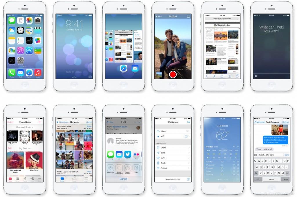 Kurz iOS 7