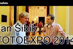 Jan Šibík na veletrhu FOTOEXPO 2014 (rozhovor)