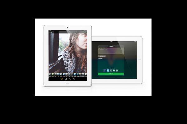 EyEem pro iPad foto hlavni