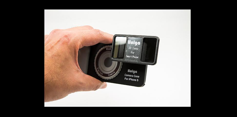 Holga 3D lens foto hlavni