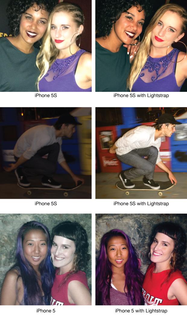 Lighstrap příslušenství pro iPhone foto
