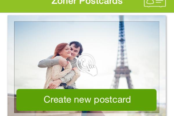 Zoner Postcards iOS 01 - nova 2