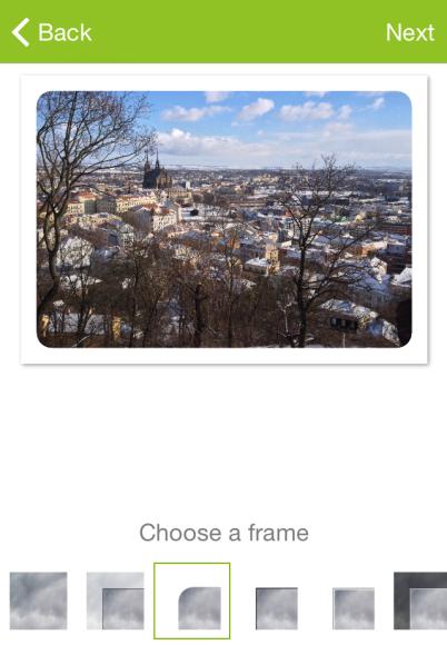 Zoner Postcards iOS 02 - fotka