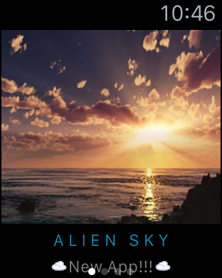 Alien Sky 1