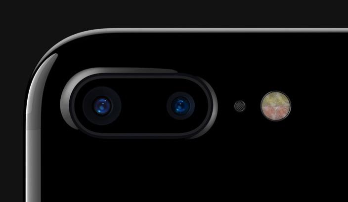 iPhone duální objektiv stabilizace