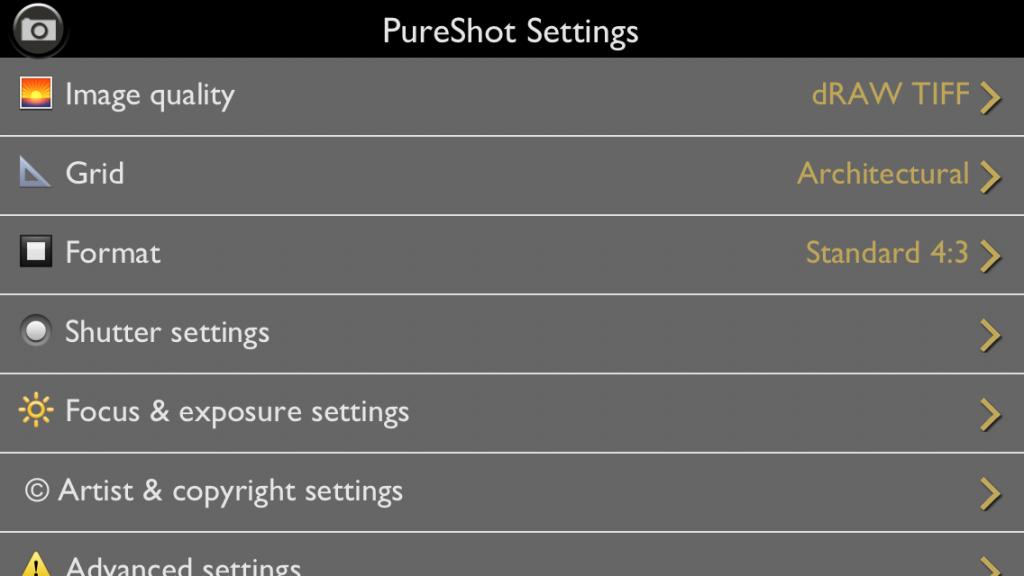PureShot app foto 2