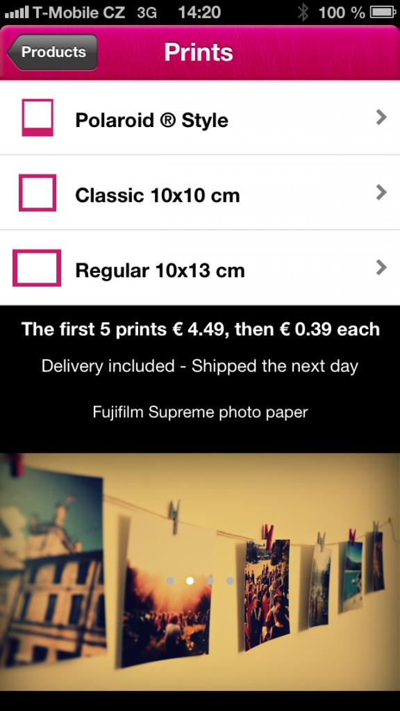 POLAGRAM app screenshot 01