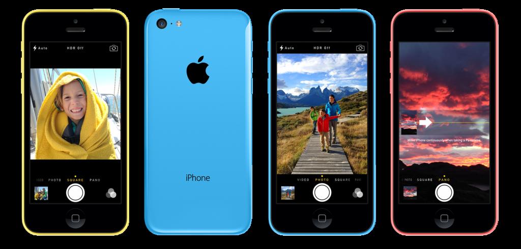iPhone 5C promo foto