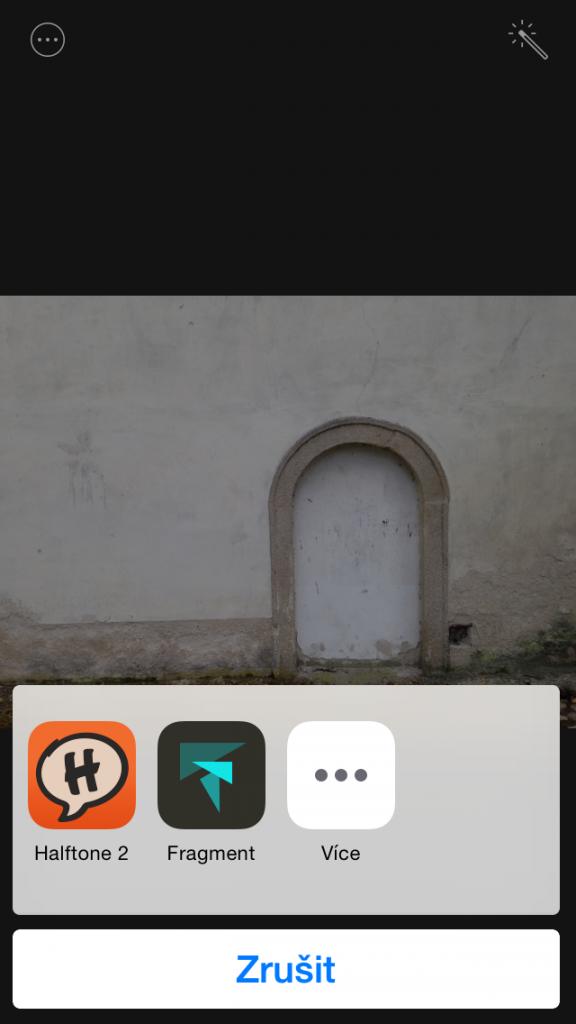 iOS 8 Halftone