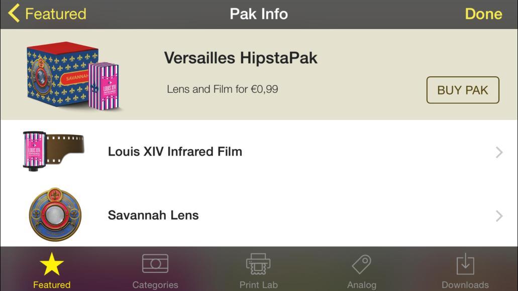 Versailles Hipstapak 2