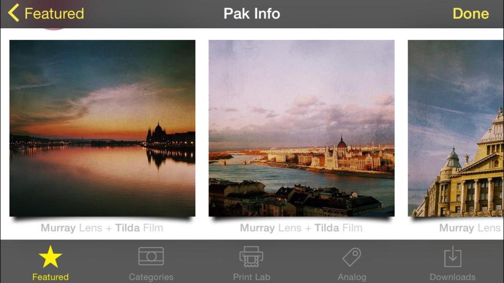 Hipstamatic představil nový fotografický balík Budapest HipstaPak 3