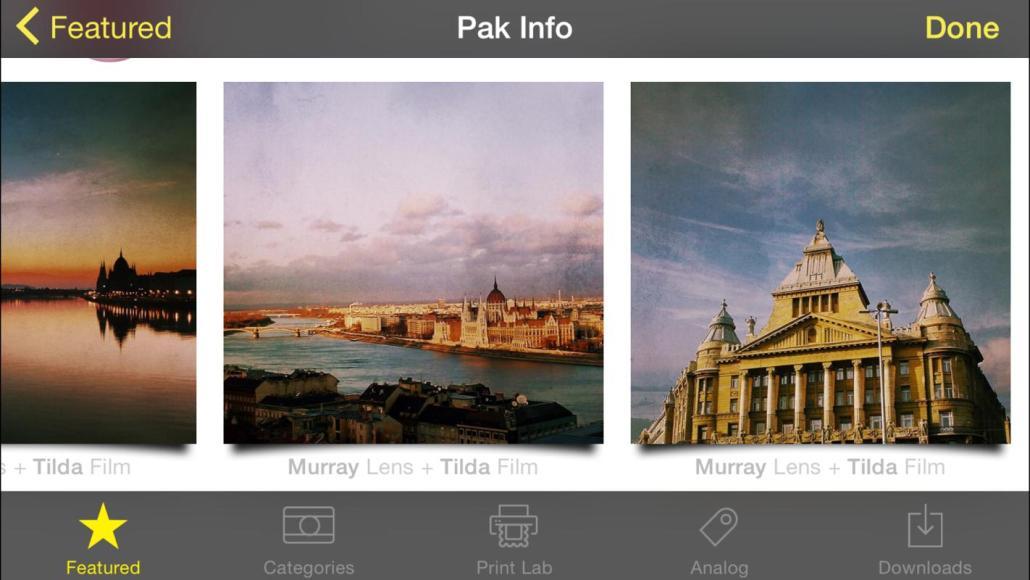Hipstamatic představil nový fotografický balík Budapest HipstaPak 4