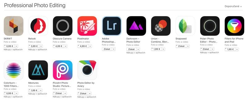 editace app store