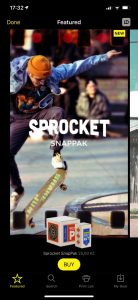 Sprocket SnapPak