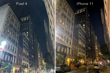 Noční režim iPhone 11